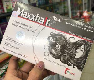 Thuốc Maxxhair có thực sự tốt như quảng cáo không ? hay lừa đảo?