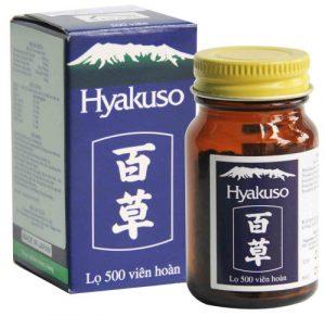 Review thuốc Hyakuso có tốt không? giá bao nhiêu? mua ở đâu?