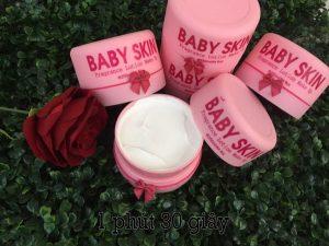 Review kem body baby skin thái lan có tốt không? giá bao nhiêu? mua ở đâu?