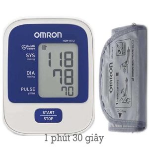 Máy đo huyết áp omron hem 8712 có tốt không? giá bao nhiêu? mua ở đâu?