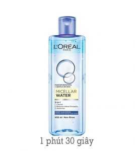 Review nước tẩy trang L'oreal 3 in 1 micellar làm sạch sâu