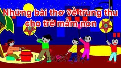 Photo of Tổng hợp các bài hát về trung thu cho trẻ mầm non 2021 (có file MP3 & Lyrics)