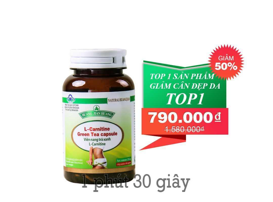 Photo of Review giảm cân L-Carnitine Green Tea Capsule có tốt không? giá bao nhiêu? mua ở đâu?