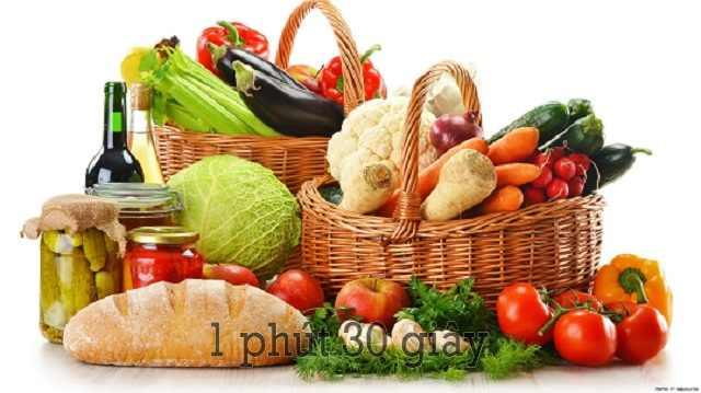 Chế độ dinh dưỡng cũng ảnh hưởng đến chỉ số GGT