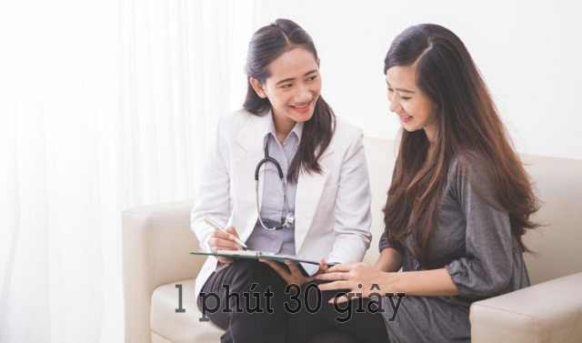 Nên đến gặp bác sĩ để có phương pháp điều trị phù hợp
