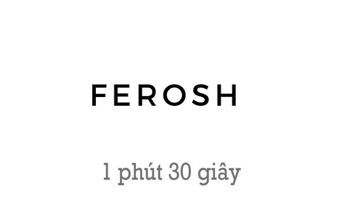 Photo of Mã giảm giá Ferosh tháng 04/2020