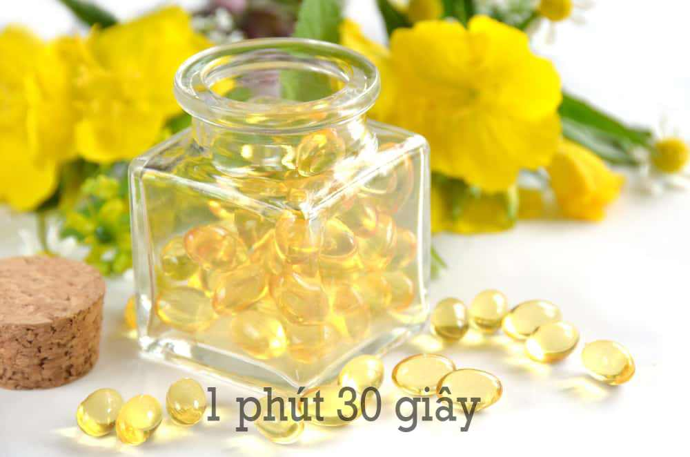 Hình ảnh tinh dầu hoa anh thảo được bào chế dạng viên